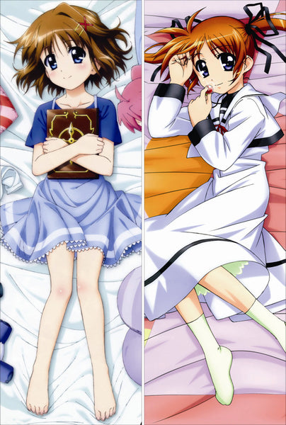 New Magical Girl Lyrical Nanoha Anime Dakimakura Japanese Pillow Cover NY142 - Anime Dakimakura Pillow Shop | Fast, Free Shipping, Dakimakura Pillow & Cover shop, pillow For sale, Dakimakura Japan Store, Buy Custom Hugging Pillow Cover - 1