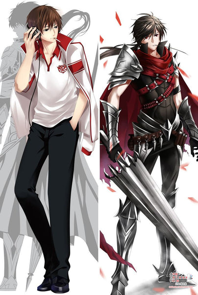 New Full-time Master Anime Male Dakimakura Japanese Pillow Cover MGF-55020 - Anime Dakimakura Pillow Shop | Fast, Free Shipping, Dakimakura Pillow & Cover shop, pillow For sale, Dakimakura Japan Store, Buy Custom Hugging Pillow Cover - 1