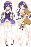 New Is The Order A Rabbit? Rize Tedeza Anime Dakimakura Japanese Pillow Cover H2895 - Anime Dakimakura Pillow Shop | Fast, Free Shipping, Dakimakura Pillow & Cover shop, pillow For sale, Dakimakura Japan Store, Buy Custom Hugging Pillow Cover - 1