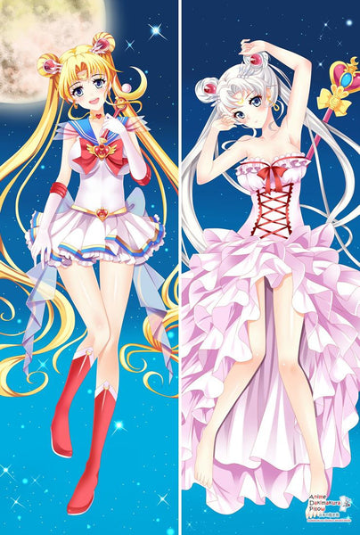 New Sailor Moon Tsukino Usagi Anime Dakimakura Japanese Pillow Cover MGF-55055