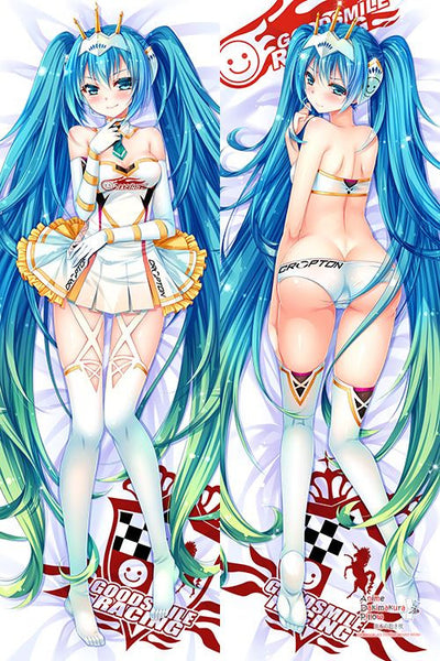 New Vocaloid Hatsune Miku Anime Dakimakura Japanese Pillow Cover H2908