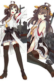 New  Kantai Collection Kanmusu Kongo Anime Dakimakura Japanese Pillow Cover KC12 - Anime Dakimakura Pillow Shop | Fast, Free Shipping, Dakimakura Pillow & Cover shop, pillow For sale, Dakimakura Japan Store, Buy Custom Hugging Pillow Cover - 1