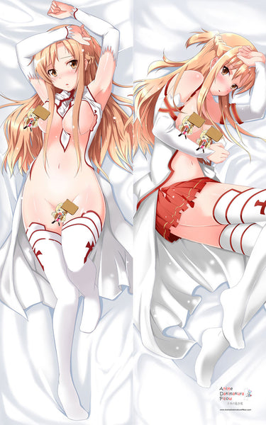 New Sword Art Online Asuna Dakimakura Japanese Pillow Cover - Anime Dakimakura Pillow Shop | Fast, Free Shipping, Dakimakura Pillow & Cover shop, pillow For sale, Dakimakura Japan Store, Buy Custom Hugging Pillow Cover - 1