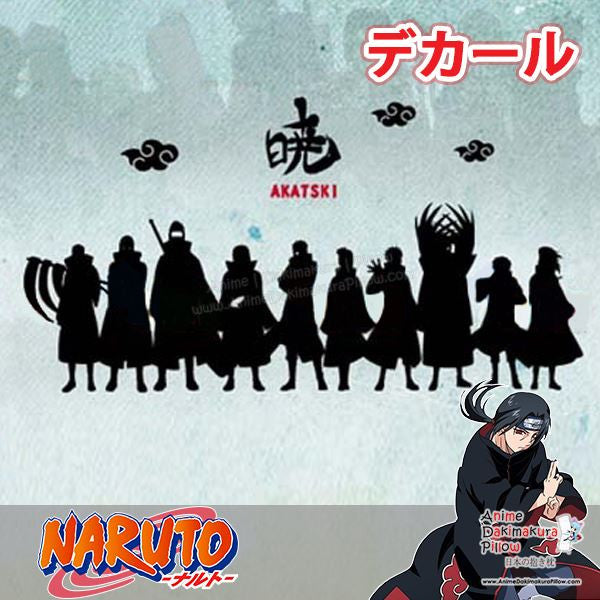 New Akatsuki - Naruto Anime Wall Decal Japanese Waterproof Vinyl Sticker OSK016