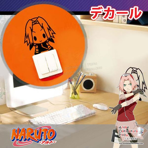 New Haruno Sakura - Naruto Anime Wall Decal Japanese Waterproof Vinyl Sticker OSK017