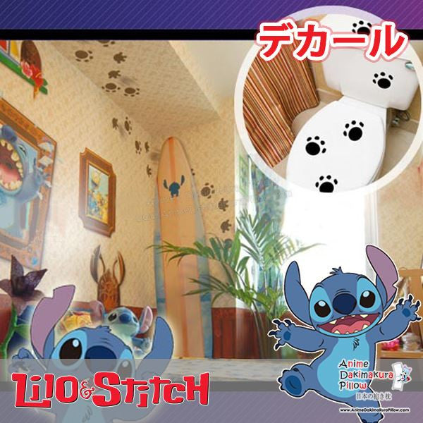 New Animal Paws Anime Wall Decal Japanese Waterproof Vinyl Sticker OSK028