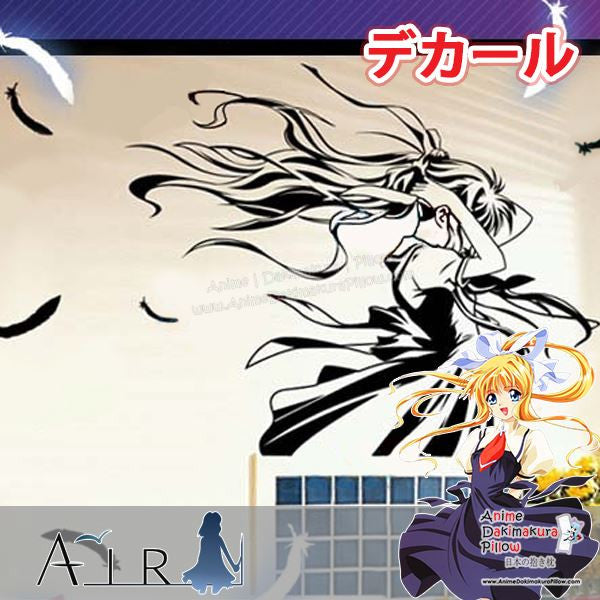 New Misuzu Kamio - Air Anime Wall Decal Japanese Waterproof Vinyl Sticker OSK030