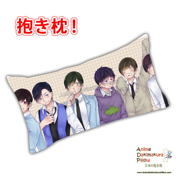 New Osomatsu-san Anime Dakimakura Rectangle Pillow Cover Custom Designer Yamazaki Shyn ADC730 - Anime Dakimakura Pillow Shop | Fast, Free Shipping, Dakimakura Pillow & Cover shop, pillow For sale, Dakimakura Japan Store, Buy Custom Hugging Pillow Cover - 1