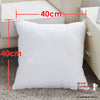New Comfortable Square Plain White Dakimakura Inner Pillow 40 x 40cm - Anime Dakimakura Pillow Shop | Fast, Free Shipping, Dakimakura Pillow & Cover shop, pillow For sale, Dakimakura Japan Store, Buy Custom Hugging Pillow Cover - 1