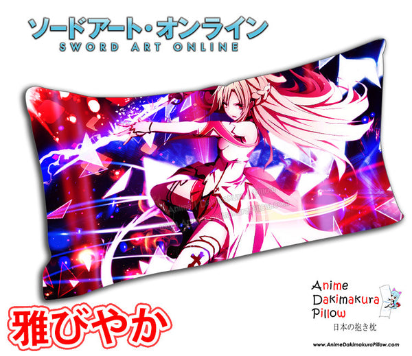 New Asuna - Sword Art Online Anime Dakimakura Rectangle Pillow Cover Custom Designer PlayerOtaku ADC120