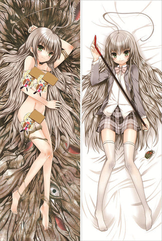 New Nyaruko-san Another Crawling Chaos Anime Dakimakura Japanese Pillow Cover QX3 - Anime Dakimakura Pillow Shop | Fast, Free Shipping, Dakimakura Pillow & Cover shop, pillow For sale, Dakimakura Japan Store, Buy Custom Hugging Pillow Cover - 1