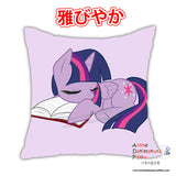 New Rarity & Twilight - My Little Po MLP Anime Dakimakura Square Pillow Cover Custom Designer Reika Miyuki ADC213 - Anime Dakimakura Pillow Shop | Fast, Free Shipping, Dakimakura Pillow & Cover shop, pillow For sale, Dakimakura Japan Store, Buy Custom Hugging Pillow Cover - 2