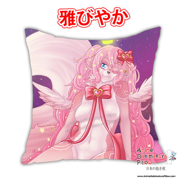 New Princessu Anime Dakimakura Square Pillow Cover Custom Designer Reika Miyuki ADC215 - Anime Dakimakura Pillow Shop | Fast, Free Shipping, Dakimakura Pillow & Cover shop, pillow For sale, Dakimakura Japan Store, Buy Custom Hugging Pillow Cover - 1