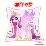 New Applejack & Cadance - My Little Po MLP Anime Dakimakura Square Pillow Cover Custom Designer Reika Miyuki ADC223 - Anime Dakimakura Pillow Shop | Fast, Free Shipping, Dakimakura Pillow & Cover shop, pillow For sale, Dakimakura Japan Store, Buy Custom Hugging Pillow Cover - 2