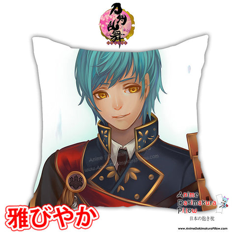 New Touken Ranbu Anime Male Dakimakura Square Pillow Cover Custom Designer Rokudo-Aurora ADC144 - Anime Dakimakura Pillow Shop | Fast, Free Shipping, Dakimakura Pillow & Cover shop, pillow For sale, Dakimakura Japan Store, Buy Custom Hugging Pillow Cover - 1
