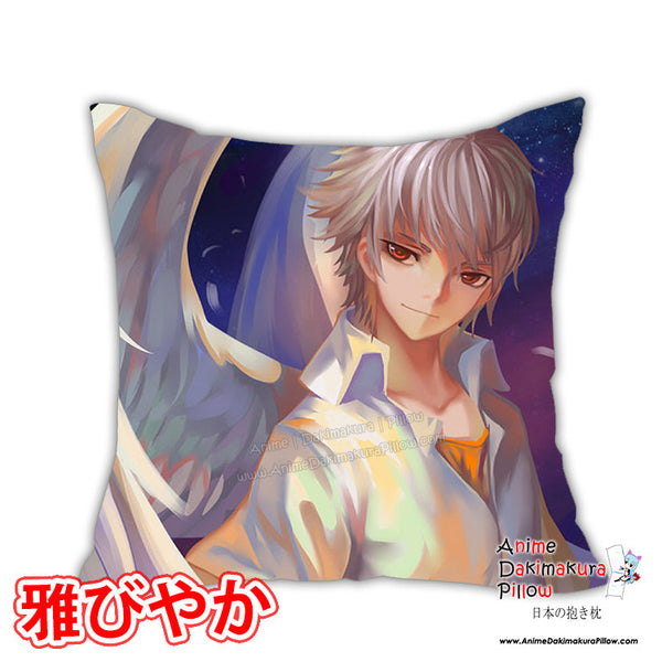 New Fan Art Male Anime Dakimakura Square Pillow Cover Custom Designer Rokudo-Aurora ADC138