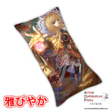 New The Dragon Knight Anime Dakimakura Rectangle Pillow Cover Custom Designer Rokudo-Aurora ADC139 - Anime Dakimakura Pillow Shop | Fast, Free Shipping, Dakimakura Pillow & Cover shop, pillow For sale, Dakimakura Japan Store, Buy Custom Hugging Pillow Cover - 1