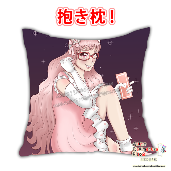 New Magical Girl Anime Dakimakura Square Pillow Cover Custom Designer Rosa Volpe  ADC738 - Anime Dakimakura Pillow Shop | Fast, Free Shipping, Dakimakura Pillow & Cover shop, pillow For sale, Dakimakura Japan Store, Buy Custom Hugging Pillow Cover - 1