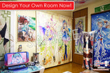 New Futaba Ichinose, Rin Kohana , and Ichigo Moesaki - Seiyu's life Anime Japanese Window Curtain Door Entrance Room Partition H0469 - Anime Dakimakura Pillow Shop | Fast, Free Shipping, Dakimakura Pillow & Cover shop, pillow For sale, Dakimakura Japan Store, Buy Custom Hugging Pillow Cover - 5
