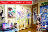 New Hanayo Koizumi - Love Live Anime Japanese Window Curtain Door Entrance Room Partition H0158 - Anime Dakimakura Pillow Shop | Fast, Free Shipping, Dakimakura Pillow & Cover shop, pillow For sale, Dakimakura Japan Store, Buy Custom Hugging Pillow Cover - 5