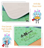 New AI Kizuna Anime Plush Carpet Doormat Home Decor Non-slip Bath Floor Mat H110045