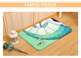 New Silver Fox - Kemono Friends Anime Plush Carpet Doormat Home Decor Non-slip Bath Floor Mat H110058
