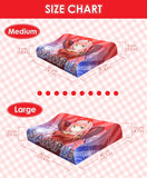 New AE3803 Red Blood Cell - Cells at Work Japanese Anime Head Cushion Pillow Deluxe Memory Soft Head Foam H190002