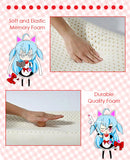 New Snow Miku Hatsune - Vocaloid Japanese Anime Head Cushion Pillow Deluxe Memory Soft Head Foam H190026