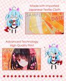 ADP Kurumi Tokisaki - Date a Live Anime Multi-Purpose Bag Medium Size Travel Pouch Storage Accessories Make-up Organizer H200001