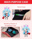 ADP Yuri and Victor - Yuri on Ice Anime Portable and Foldable Hard Durable Case for Eyeglasses, Sunglasses, Stationary Protection H240009
