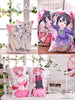 New Kurumi Tokisaki - Date a Live Anime Dakimakura Rectangle Pillow Cover Custom Designer Scyllarhia ADC231 - Anime Dakimakura Pillow Shop | Fast, Free Shipping, Dakimakura Pillow & Cover shop, pillow For sale, Dakimakura Japan Store, Buy Custom Hugging Pillow Cover - 6