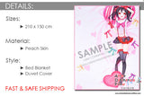 New Love Live School Idol Project Japanese Anime Bed Blanket or Duvet Cover GZFONG374 - Anime Dakimakura Pillow Shop | Fast, Free Shipping, Dakimakura Pillow & Cover shop, pillow For sale, Dakimakura Japan Store, Buy Custom Hugging Pillow Cover - 3