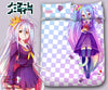 New Shiro - No Game No Life Japanese Anime Bed Blanket or Duvet Cover with Pillow Covers Blanket 1 - Anime Dakimakura Pillow Shop | Fast, Free Shipping, Dakimakura Pillow & Cover shop, pillow For sale, Dakimakura Japan Store, Buy Custom Hugging Pillow Cover - 1
