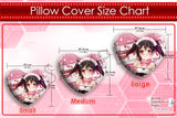 New Snow Miku Hatsune - Vocaloid Chibi Anime Japanese Heart Shaped Stuffed Plush Throw Pillow Cover GZFONG537 - Anime Dakimakura Pillow Shop | Fast, Free Shipping, Dakimakura Pillow & Cover shop, pillow For sale, Dakimakura Japan Store, Buy Custom Hugging Pillow Cover - 6