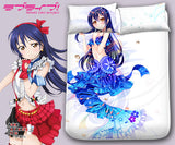 New Sonoda Umi - Love Live Japanese Anime Bed Blanket or Duvet Cover with Pillow Covers Blanket 7 - Anime Dakimakura Pillow Shop | Fast, Free Shipping, Dakimakura Pillow & Cover shop, pillow For sale, Dakimakura Japan Store, Buy Custom Hugging Pillow Cover - 1