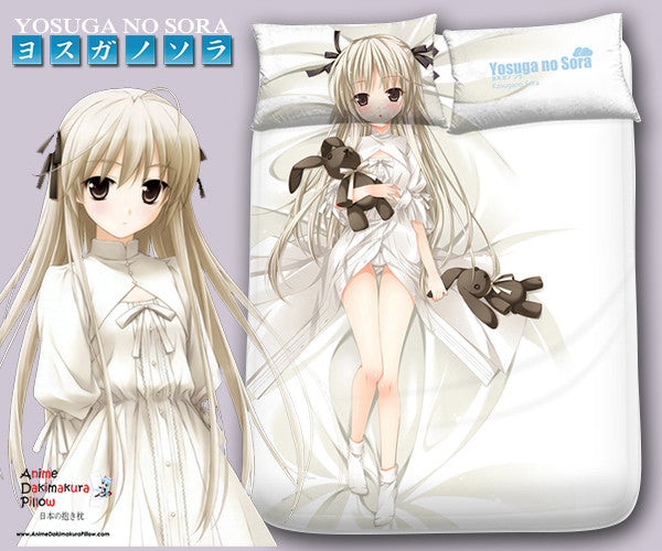 New Sora Kasugano - Yosuga No Sora Japanese Anime Bed Blanket or Duvet Cover with Pillow Covers Blanket 15