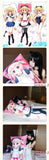 New Magical Girl Lyrical Nanoha Anime Dakimakura Japanese Pillow Cover NY96 - Anime Dakimakura Pillow Shop | Fast, Free Shipping, Dakimakura Pillow & Cover shop, pillow For sale, Dakimakura Japan Store, Buy Custom Hugging Pillow Cover - 4