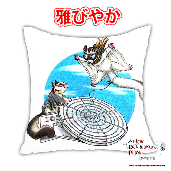 New Sugarglider Anime Square Dakimakura Japanese Pillow Cover Custom Designer Schiraki ADC358 - Anime Dakimakura Pillow Shop | Fast, Free Shipping, Dakimakura Pillow & Cover shop, pillow For sale, Dakimakura Japan Store, Buy Custom Hugging Pillow Cover - 1