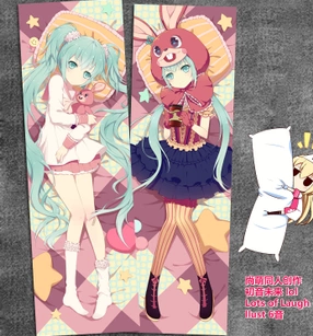 New Hatsune Miku Anime Dakimakura Japanese Pillow Cover ADP-3120 - Anime Dakimakura Pillow Shop | Fast, Free Shipping, Dakimakura Pillow & Cover shop, pillow For sale, Dakimakura Japan Store, Buy Custom Hugging Pillow Cover - 1