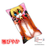 New Ayu Anime Dakimakura Rectangle Pillow Cover Custom Designer SlushieNyappy ADC169 - Anime Dakimakura Pillow Shop | Fast, Free Shipping, Dakimakura Pillow & Cover shop, pillow For sale, Dakimakura Japan Store, Buy Custom Hugging Pillow Cover - 1