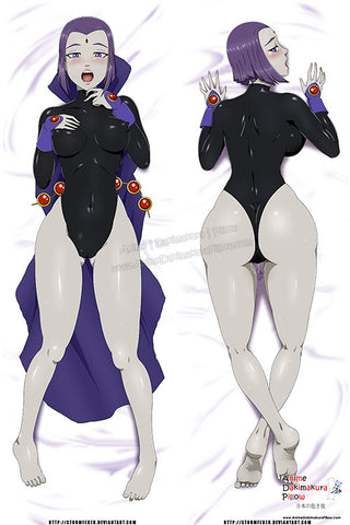 New Raven - Teen Titans Anime Dakimakura Japanese Pillow Custom Designer StormFedeR ADC373 - Anime Dakimakura Pillow Shop | Fast, Free Shipping, Dakimakura Pillow & Cover shop, pillow For sale, Dakimakura Japan Store, Buy Custom Hugging Pillow Cover - 1