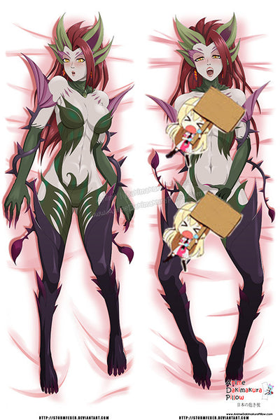 New Zyra - League of Legends Anime Dakimakura Japanese Pillow Custom Designer StormFedeR ADC376