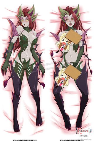 New Zyra - League of Legends Anime Dakimakura Japanese Pillow Custom Designer StormFedeR ADC376 - Anime Dakimakura Pillow Shop | Fast, Free Shipping, Dakimakura Pillow & Cover shop, pillow For sale, Dakimakura Japan Store, Buy Custom Hugging Pillow Cover - 1