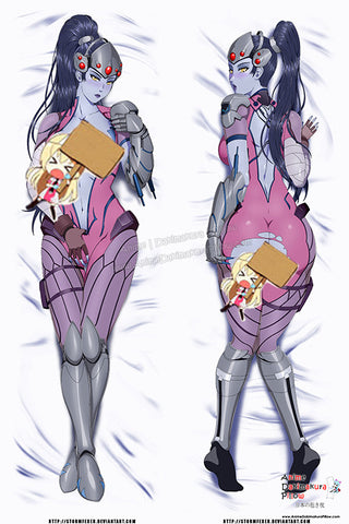 New Widowmaker - Overwatch Anime Dakimakura Japanese Pillow Custom Designer StormFedeR ADC375 - Anime Dakimakura Pillow Shop | Fast, Free Shipping, Dakimakura Pillow & Cover shop, pillow For sale, Dakimakura Japan Store, Buy Custom Hugging Pillow Cover - 1