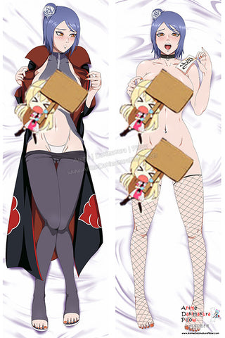 New Konan - Naruto Anime Dakimakura Japanese Pillow Custom Designer StormFedeR ADC205 - Anime Dakimakura Pillow Shop | Fast, Free Shipping, Dakimakura Pillow & Cover shop, pillow For sale, Dakimakura Japan Store, Buy Custom Hugging Pillow Cover - 1
