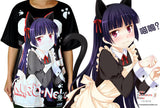 NEW Love Live Full Color Print Cartoon Anime Manga Short Sleeve Tshirt MGF 25 - Anime Dakimakura Pillow Shop | Fast, Free Shipping, Dakimakura Pillow & Cover shop, pillow For sale, Dakimakura Japan Store, Buy Custom Hugging Pillow Cover - 5