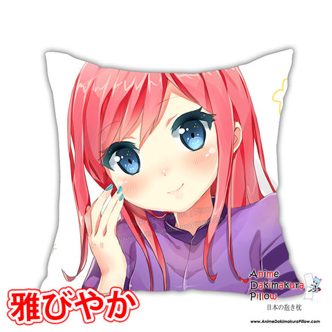 New Lovely Pink Hair Top Selling Anime Dakimakura Square Pillow Cover Custom Designer TakaiSeika ADC183 - Anime Dakimakura Pillow Shop | Fast, Free Shipping, Dakimakura Pillow & Cover shop, pillow For sale, Dakimakura Japan Store, Buy Custom Hugging Pillow Cover - 1