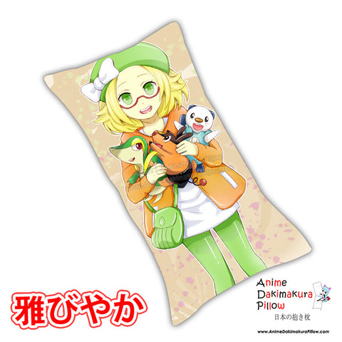 New Bianca Pokemon Anime Dakimakura Rectangle Pillow Cover Custom Designer TakaiSeika ADC192 - Anime Dakimakura Pillow Shop | Fast, Free Shipping, Dakimakura Pillow & Cover shop, pillow For sale, Dakimakura Japan Store, Buy Custom Hugging Pillow Cover - 1