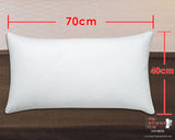 New Fluffy Huggable Plain White Dakimakura Inner Pillow 70 x 40cm - Anime Dakimakura Pillow Shop | Fast, Free Shipping, Dakimakura Pillow & Cover shop, pillow For sale, Dakimakura Japan Store, Buy Custom Hugging Pillow Cover - 1