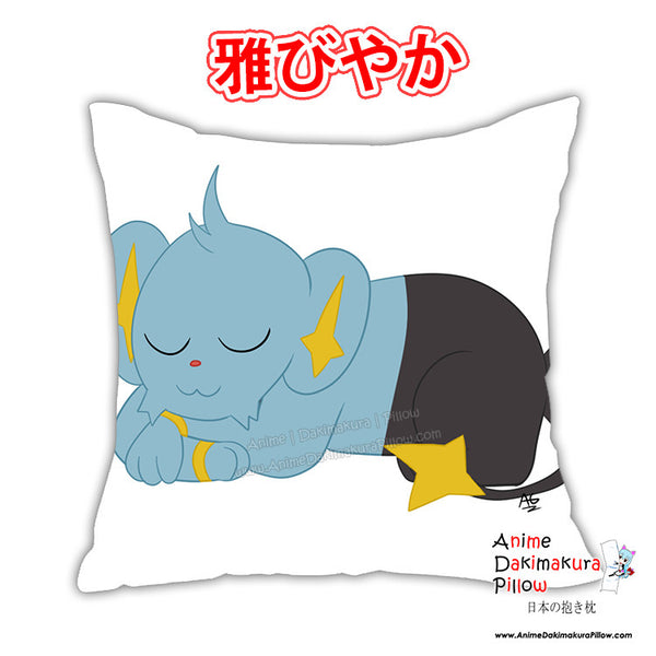 New Shinx Anime Dakimakura Square Japanese Pillow Cover Custom Designer Wolfgirl1 ADC381 - Anime Dakimakura Pillow Shop | Fast, Free Shipping, Dakimakura Pillow & Cover shop, pillow For sale, Dakimakura Japan Store, Buy Custom Hugging Pillow Cover - 1